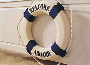 nauticalliving -  - Decorative Life Ring
