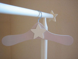 GRIS ALBA DECORACION - percha infantil york - Children's Clothes Hanger