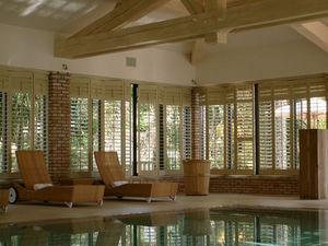 Jasno Shutters - shutters persiennes mobiles - Indoor Pool