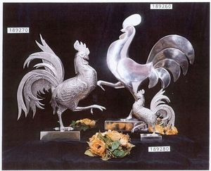 Les Etains Des Potstainiers Hutois -  - Rooster