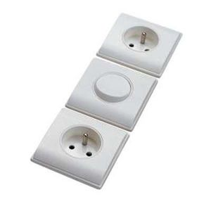 Inotech - st malo blanc /2 prises - Two Way Switch