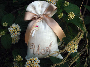 RICAMERIA MARCO POLO - sacchetto per bomboniere matrimonio - Marriage Candy Box