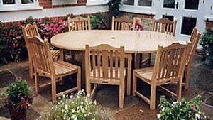 New Dawn Furniture -   - Round Garden Table
