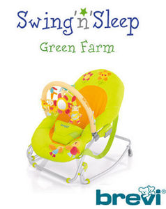BREVI - sraietta swing'n'sleep - Baby Bouncer Seat