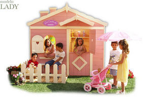 CABANES GREEN HOUSE - lady - Children's Garden Play House