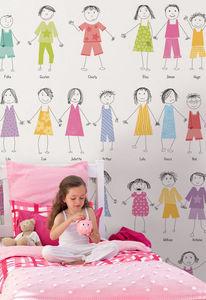 DECLIK - ribambelle 2 - Children's Wallpaper