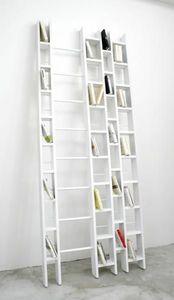 La Corbeille Editions - hô + blanche - Open Bookcase