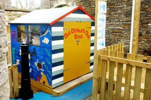 Sun & Shade - storage shed - Children's Garden Play House