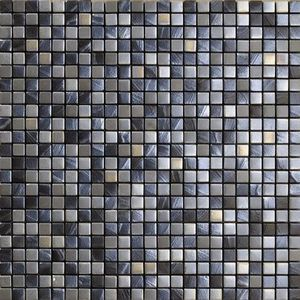 Vives Azulejos y Gres - satinados mosaico tiépolo plata 30x30cm - Wall Tile
