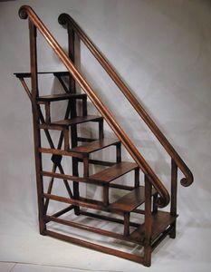 BAGGOTT CHURCH STREET - library steps ladder - Library Step Ladder