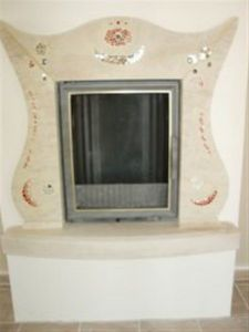 PIERRES -  - Closed Fireplace