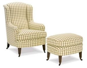 Kingcome Sofas - dorset stool - Armchair And Floor Cushion