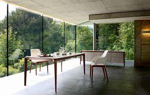 ROCHE BOBOIS - brio - Rectangular Dining Table