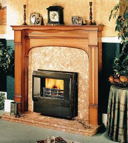 Trianco - eurostar solid fuel trh - Fireplace Insert