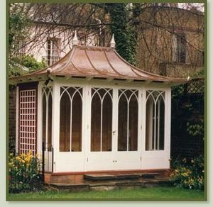 Town & Country Conservatories - garden folly - Summer Pavilion