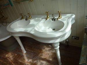 Stiffkey Bathrooms -  - Pedestal Washbasin