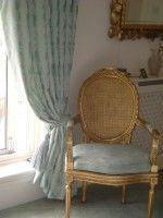 Hung  Drawn & Corded -  - Bonne Femme Curtain