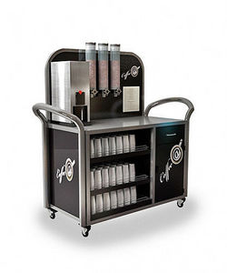 Showmaster - curved glass - Buffet Display Stand