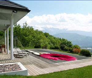 Tiki concept -  - Pool Cover With Eyelets
