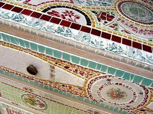 Mosaïque Patatras - dessus de commode - Mosaic