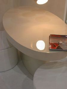 PARIS CREATEURS -  - Oval Dining Table