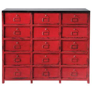 MAISONS DU MONDE - vermillon - Cabinet