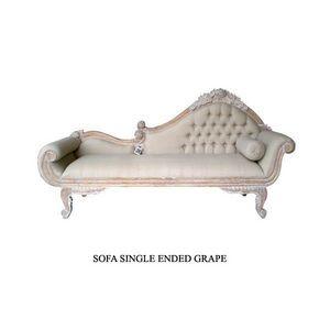 DECO PRIVE - meridienne en bois ceruse modele grape - Lounge Sofa