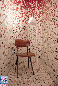 Emaux de Briare - emaux 24 carats - Mosaic Tile Wall