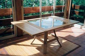 MEUBLES EN MERRAIN -  - Rectangular Dining Table