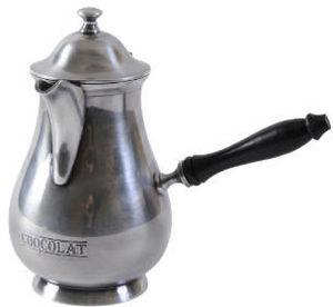 Antic Line Creations - chocolatière ancienne en laiton - Chocolate Pot