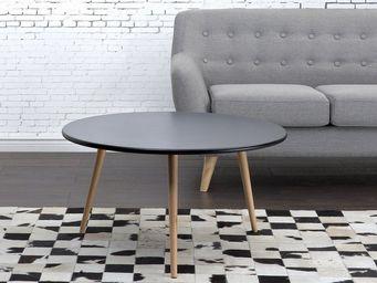 BELIANI - table basse - Round Coffee Table