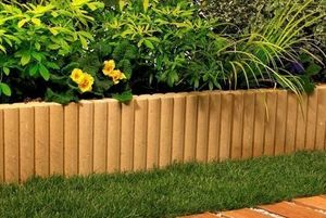 MARLUX - rondin - Lawn Edging