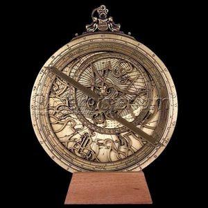 HEMISFERIUM - astrolabe planisferique - Spherical Astrolabe