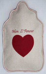 LES BOUILLOTTES DE BEA - mon z'amour - Hot Water Bottle