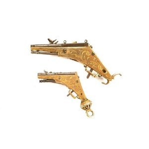 Peter Finer - a very rare german all-metal miniature wheel-lock - Carbine And Rifle