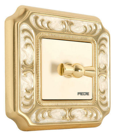 FEDE - Automatic switch-FEDE-SMALTO ITALIANO SIENA COLLECTION