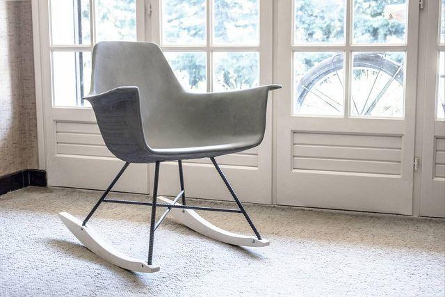 LYON BÉTON - Rocking chair-LYON BÉTON-Rocking Chair d'HAUTEVILLE