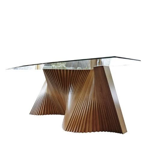 LOLA GLAMOUR - Rectangular dining table-LOLA GLAMOUR-Wave--