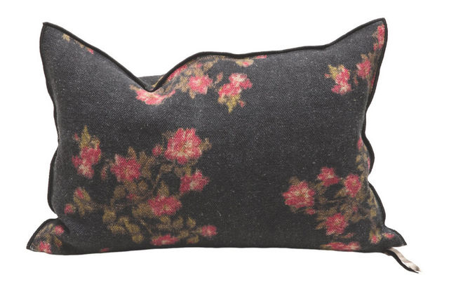 Maison De Vacances - Rectangular cushion-Maison De Vacances-Roses Magenta
