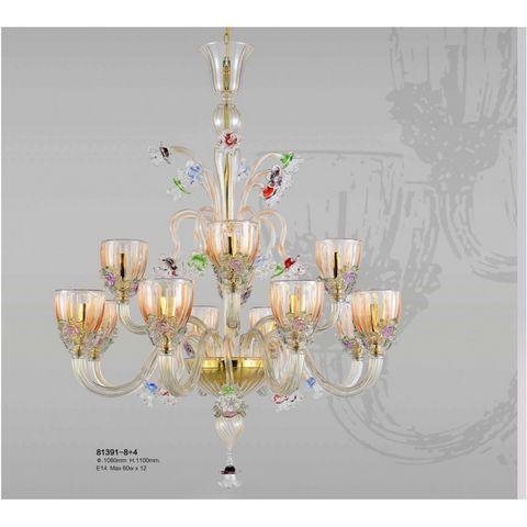 ALAN MIZRAHI LIGHTING - Candelabra-ALAN MIZRAHI LIGHTING-AM81391 TOSCANA VENETIAN