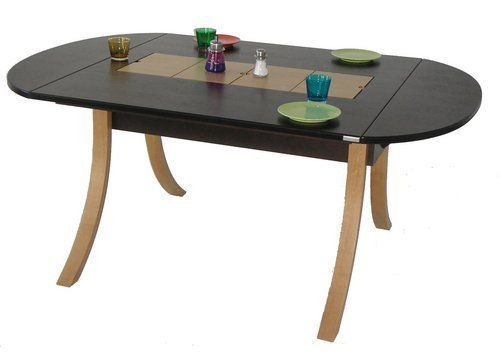 RUBBENS DESIGN - Oval dining table-RUBBENS DESIGN-Lounge