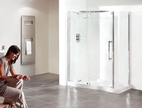 Metropolitan Shower - Shower enclosure-Metropolitan Shower-1450 Wave ENIGMA
