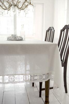 WEIssFEE - Rectangular tablecloth-WEIssFEE-Paris