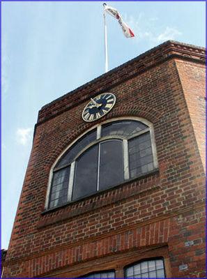 Gillett & Johnston (croydon) - Outdoor clock-Gillett & Johnston (croydon)-Golf Club, Stable, & Pavilion Clocks