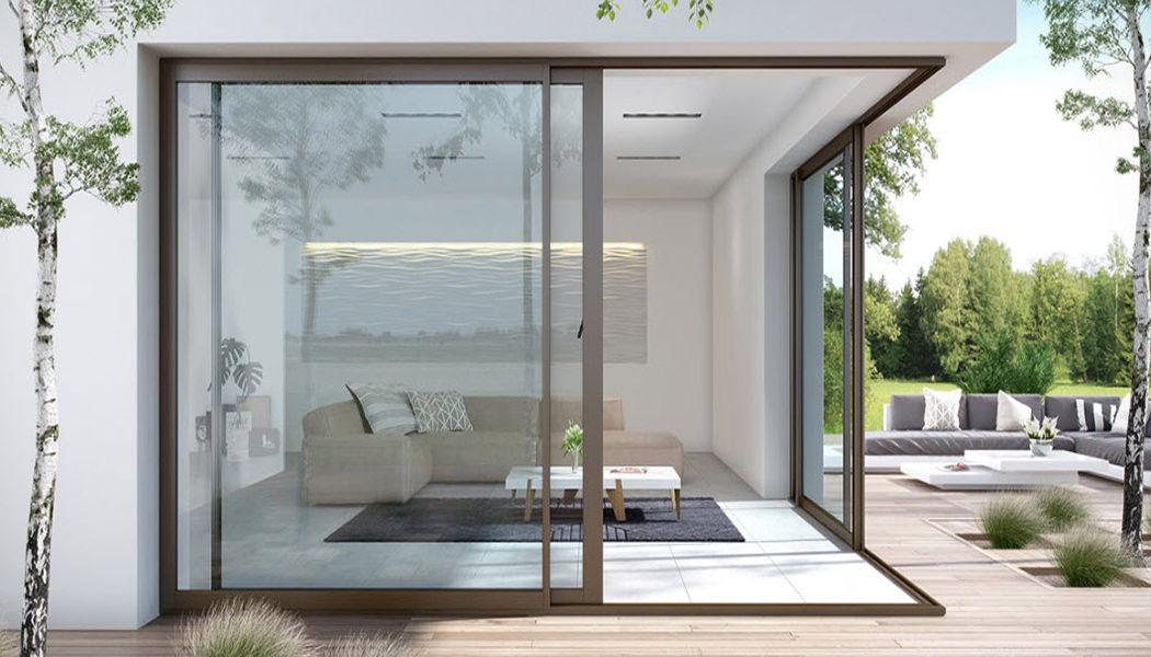 Art And Blind Schiebeglasfensterfront Balkon-/Terrassentüren Fenster & Türen  |