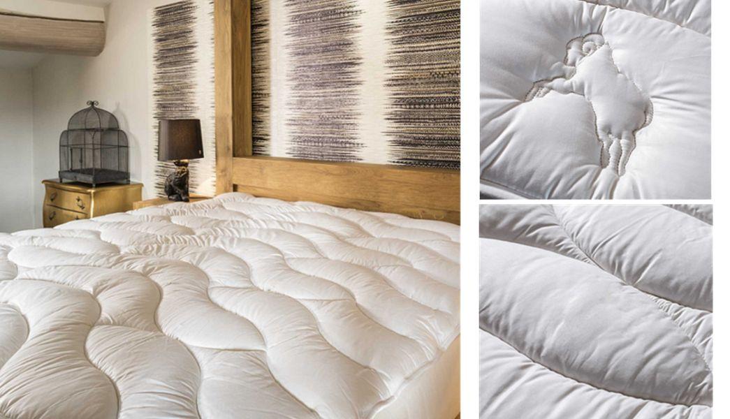 Brun De VIAN-TIRAN Matratzenauflage Matratzen Betten   