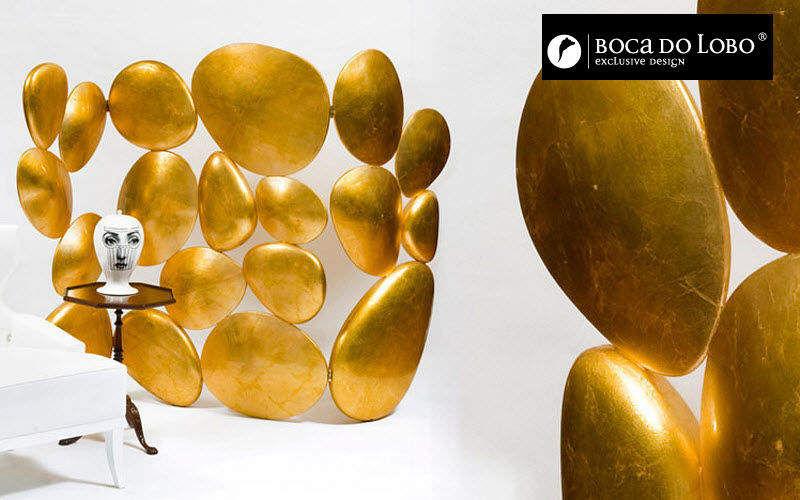 BOCA DO LOBO Paravent Sichtschutzwand Tisch Wohnzimmer-Bar   Unkonventionell