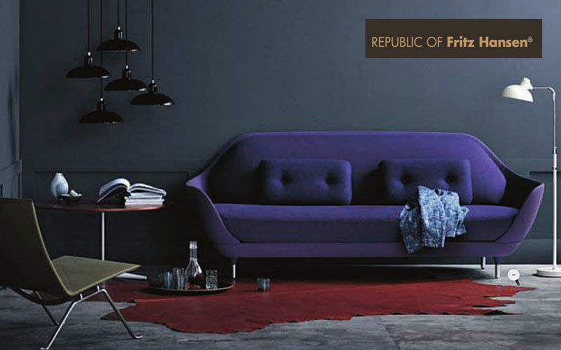 Fritz Hansen Sofa 3-Sitzer Sofas Sitze & Sofas Wohnzimmer-Bar | Design Modern