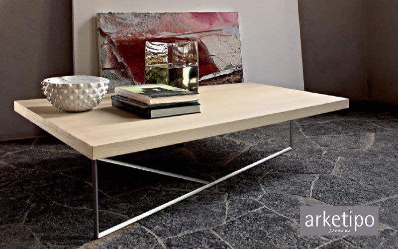 Arketipo Rechteckiger Couchtisch Couchtische Tisch Büro | Design Modern
