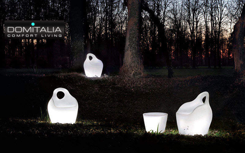 Domitalia Beleuchteter Gartensessel Gartensessel Gartenmöbel Terrasse |
